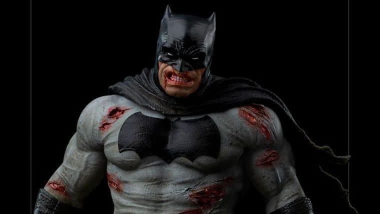 Iron Studios anuncia estatueta de Batman: The Dark Night Returns