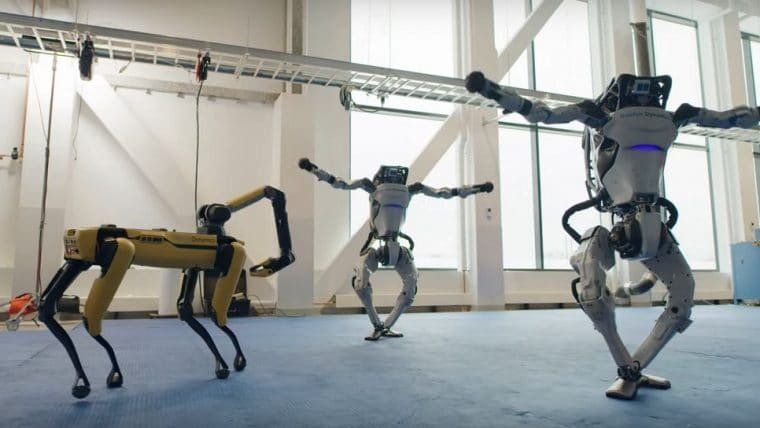 Robôs da Boston Dynamics mostram que tem mais gingado que muita gente