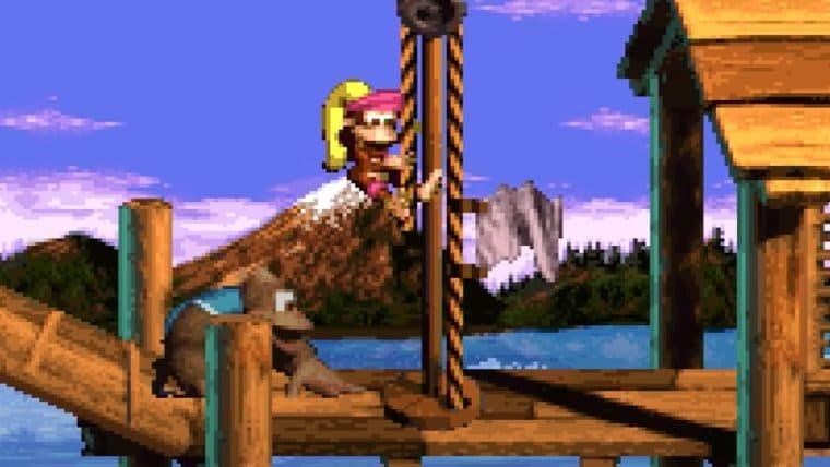 Donkey Kong Country 3 e mais jogos entram no catálogo do Nintendo Switch Online