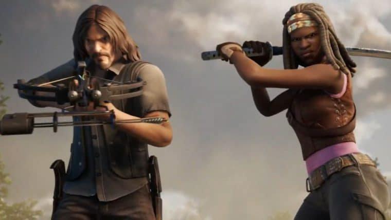 Fortnite anuncia skins de The Walking Dead e Master Chief