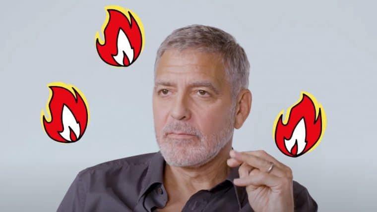 George Clooney lê tuítes em português em vídeo zoeiro