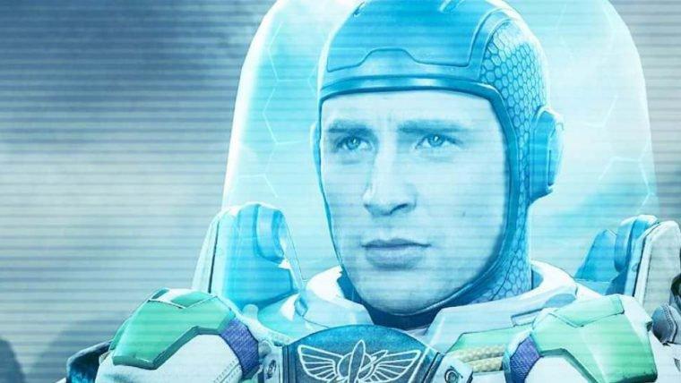 Artista mostra Chris Evans como Buzz Lightyear, de Toy Story