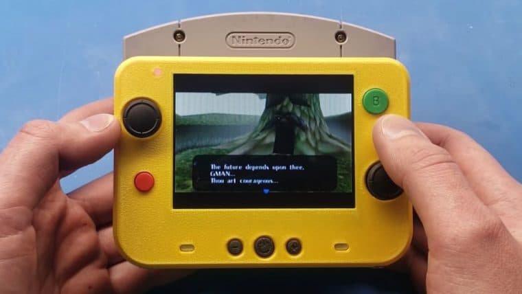 Menor Nintendo 64 do mundo é quase do tamanho de um cartucho