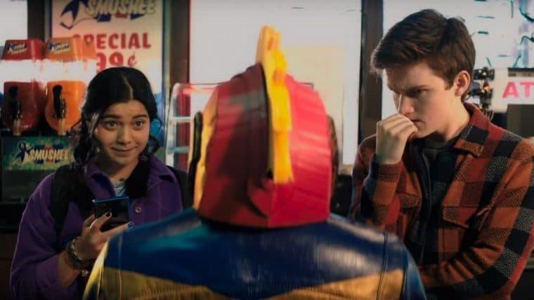 Ms. Marvel ganha vídeo apresentando Iman Vellani, atriz que interpreta a protagonista
