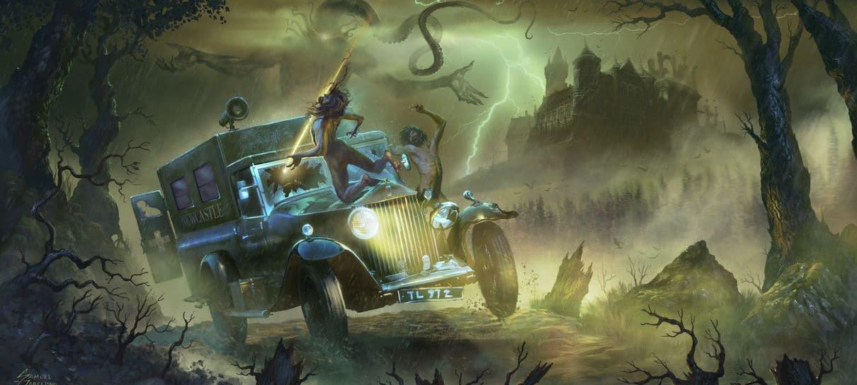 Nerdcast RPG: Coleção Cthulhu passa R$ 5 milhões de arrecadação e ganha novas metas