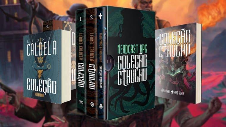 Nerdcast RPG: Coleção Cthulhu arrecada mais de R$ 1 milhão em apenas duas horas