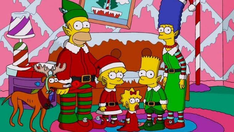 Os Simpsons terá maratona com episódios natalinos
