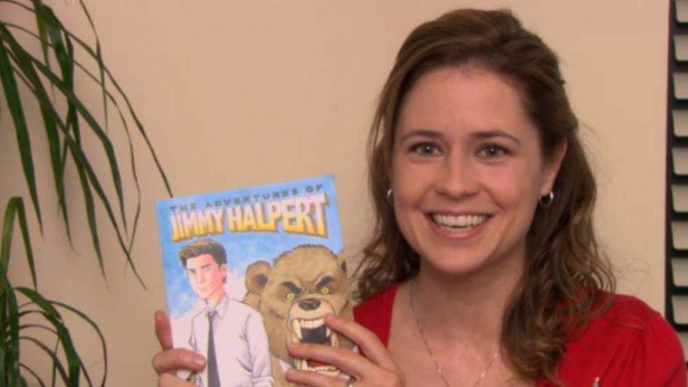 As Aventuras de Jimmy Halpert, a HQ feita por Pam em The Office, será lançada