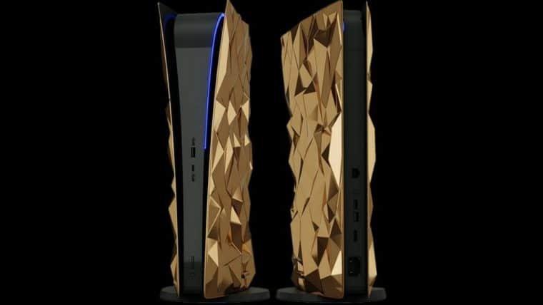 Empresa anuncia PlayStation 5 com 20kg de ouro e couro de crocodilo
