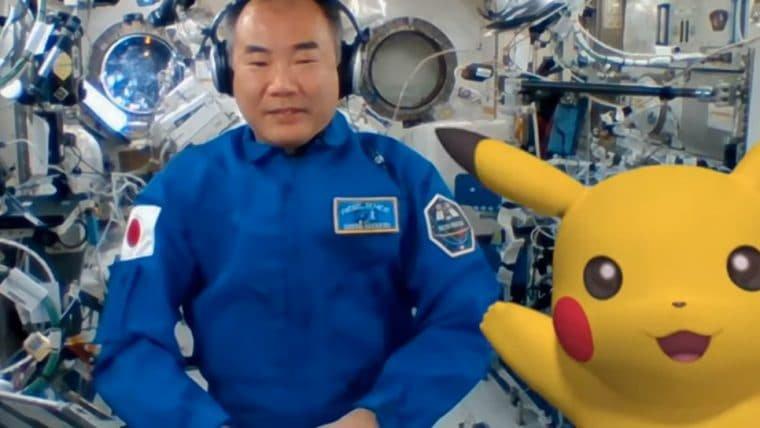 Pokémon no espaço: Pikachu e Rayquaza aparecem em evento na Estação Espacial Internacional