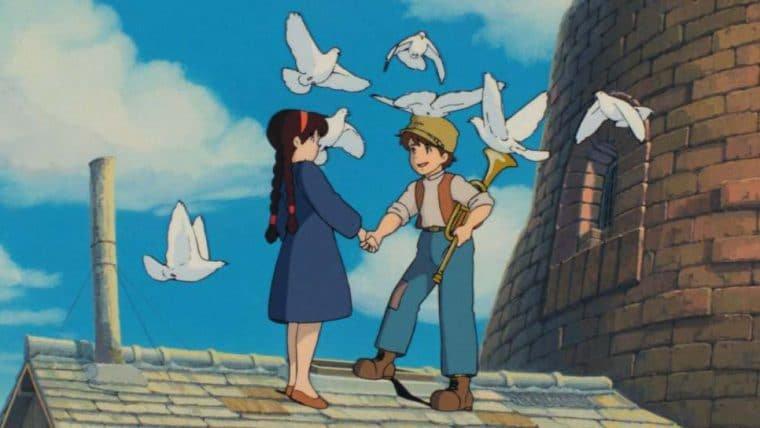 Studio Ghibli disponibiliza última leva de imagens em HD de Castelo no Céu e outros