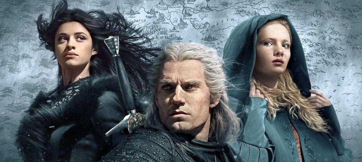 The Witcher | Confira um mapa interativo e a linha do tempo da série