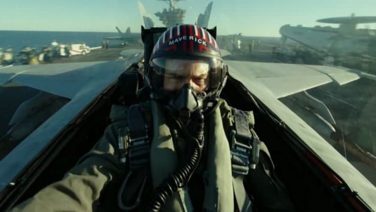 Top Gun: Maverick | Vídeo dos bastidores mostra Tom Cruise e elenco pilotando aeronaves
