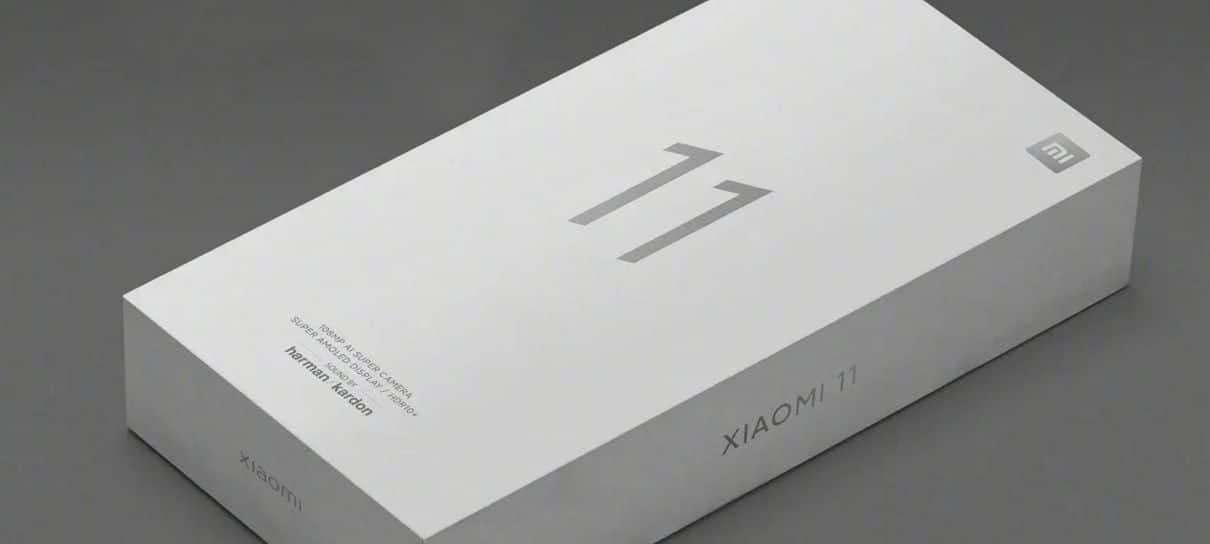 Xiaomi confirma que Mi 11 não inclui carregador na caixa