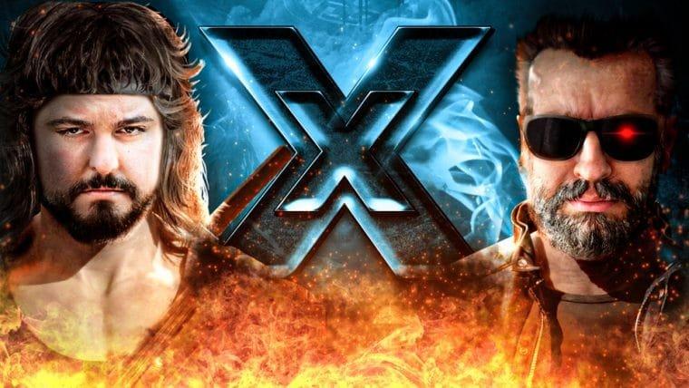 Mortal Kombat 11 - Rambo vs Terminator