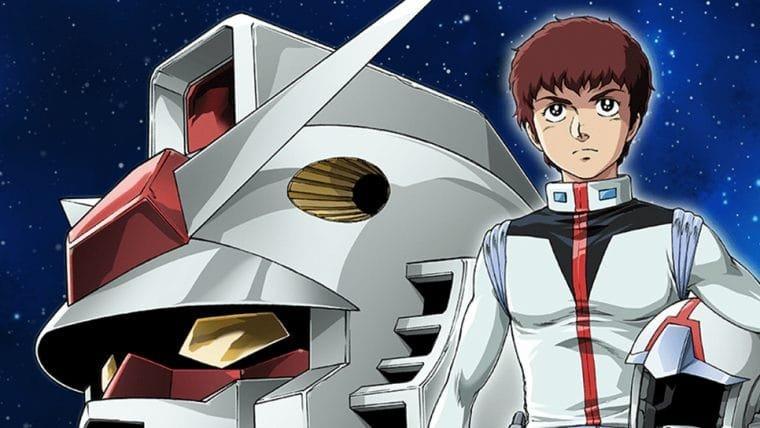 Mobile Suit Gundam entra no catálogo da Crunchyroll