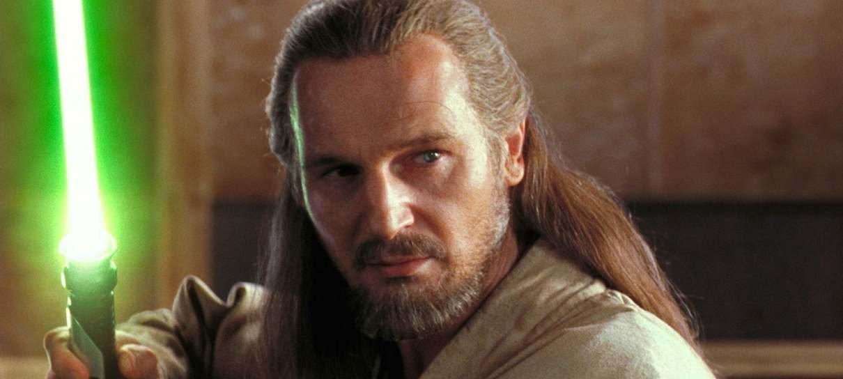 Star Wars | Liam Neeson aceitaria interpretar Qui-Gon Jin na série do Obi-Wan