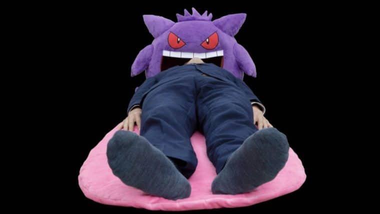Essa almofada-cama do Gengar promete belos sonhos ao invés de pesadelos