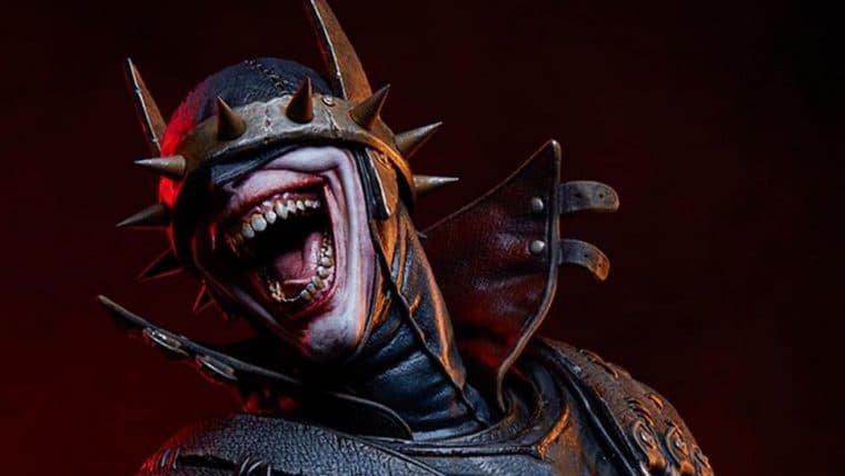 Batman que Ri ganha colecionável aterrorizante