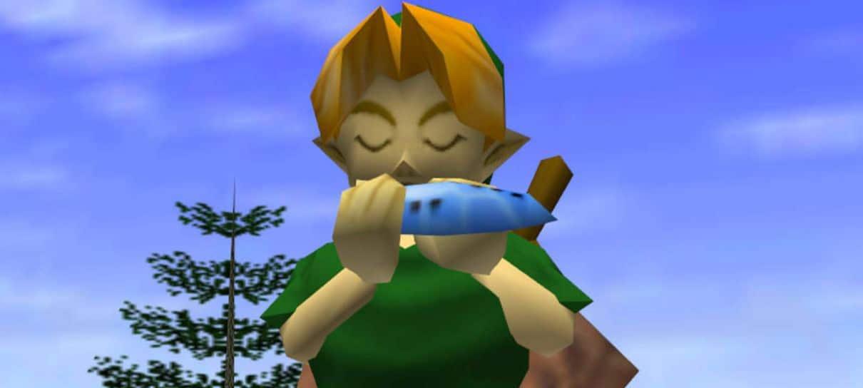 Fãs encontram versão beta de The Legend of Zelda: Ocarina of Time