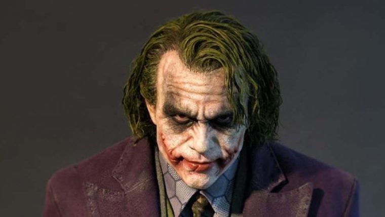 Batman – O Cavaleiro das Trevas | Coringa de Heath Ledger ganha estátua hiper realista