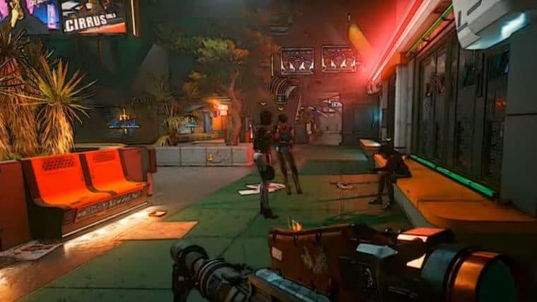 Cyberpunk 2077 | Mod deixa visual do jogo parecido com Borderlands
