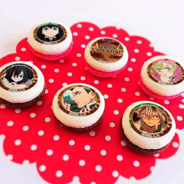 demon slayer macarons