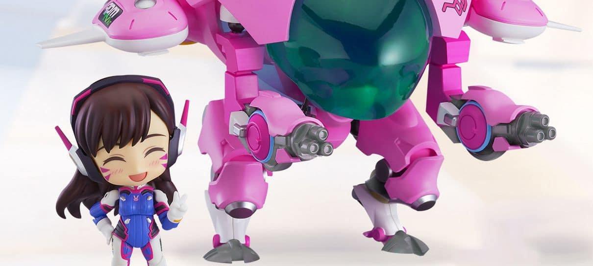Overwatch | Nendoroid do mecha da D.Va joga pra ganhar seu coração