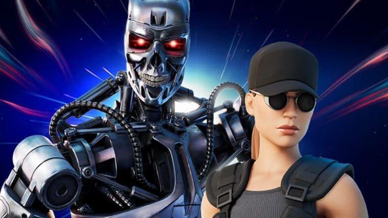 Exterminador do Futuro e Sarah Connor ganham skins em Fortnite