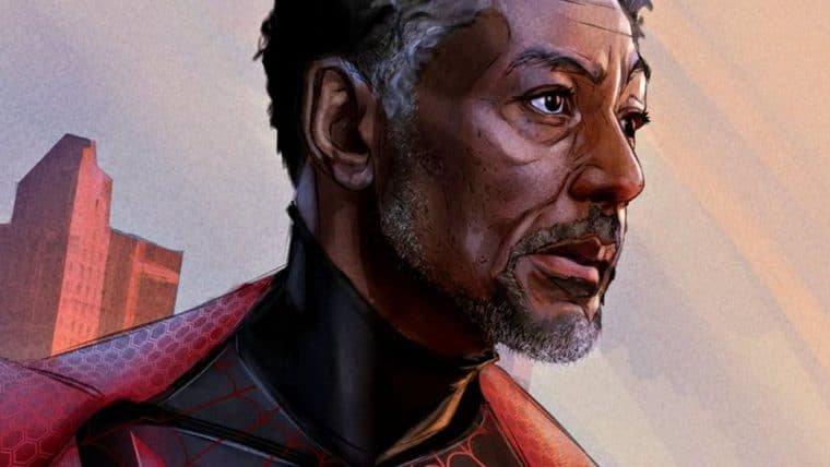 Fã transforma Giancarlo Esposito em Homem-Aranha
