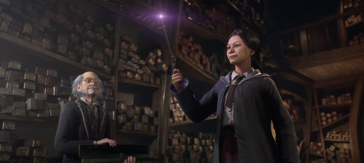 Hogwarts Legacy, jogo RPG de mundo aberto, é adiado para 2022