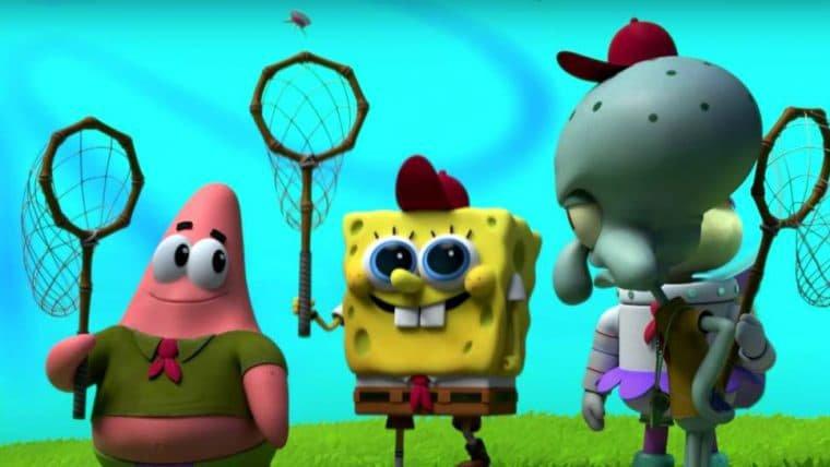 Kamp Koral   Bob Esponja caça águas-vivas em cena inédita do spin-off; assista