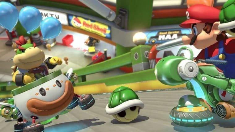 Bicicleta ergométrica vira controle de Mario Kart