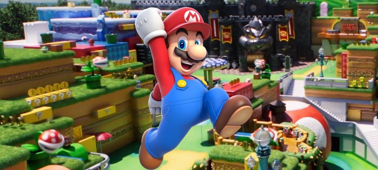 Faça uma tour virtual pelo Super Nintendo World