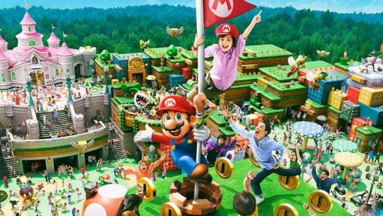 Abertura do parque da Nintendo é adiada indefinidamente