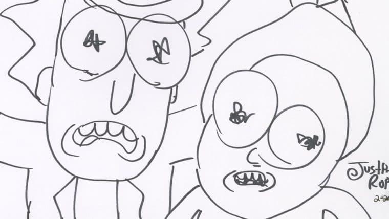 Cocriador de Rick and Morty vende criptoarte por US$ 150 mil em leilão