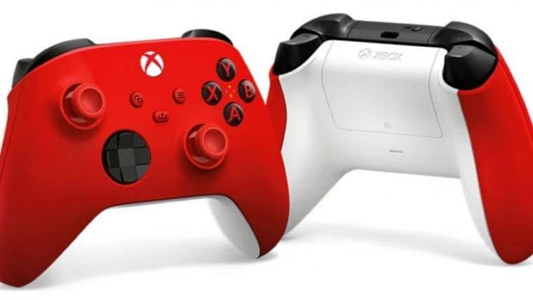 Xbox anuncia controle Pulse Red para Series X e S