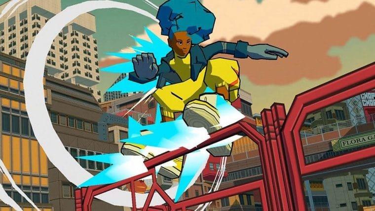Bomb Rush Cyberfunk ganha trailer com músicas de Hideki Naganuma
