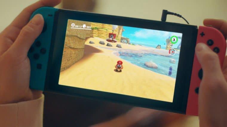 Como resolver o problema de drift do Nintendo Switch