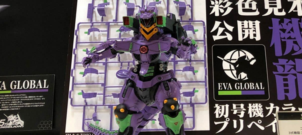 Esse figure é uma combinação poderosa entre Evangelion e Godzilla