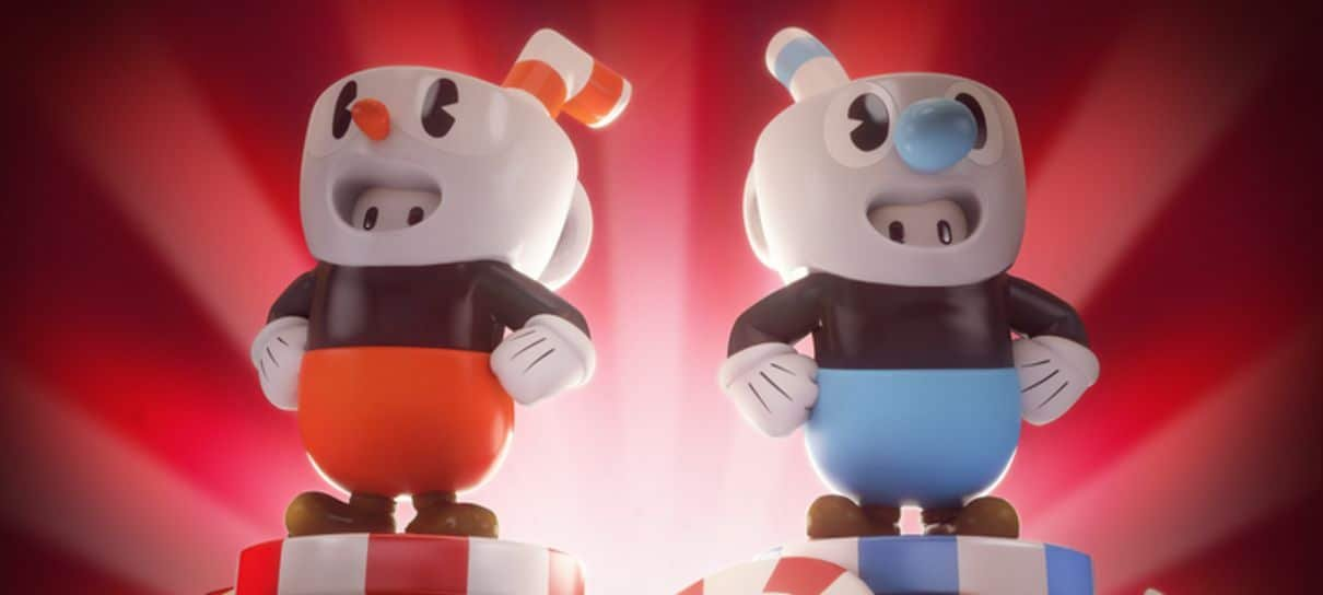 Fall Guys | Colaboração com Cuphead traz skins de Xicrinho e Caneco