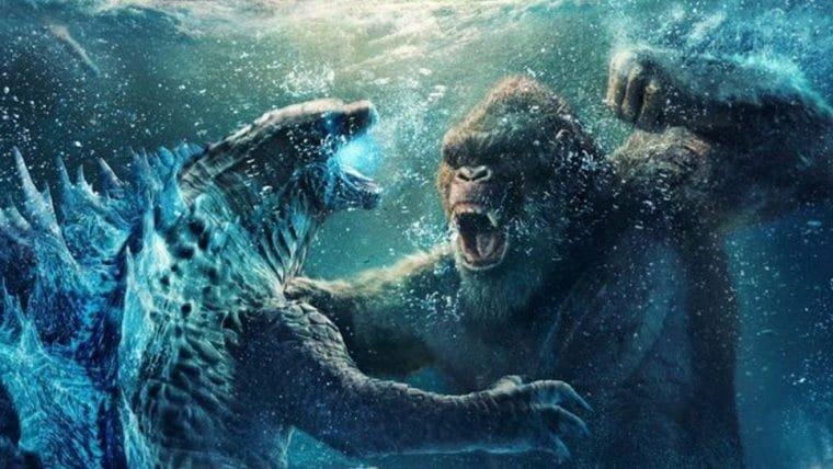 Godzilla vs Kong | Pôster chinês mostra uma batalha na água