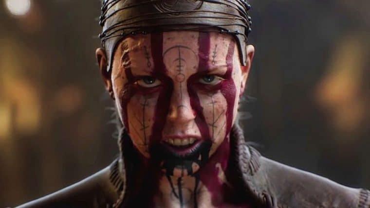 Senua aparece assustadora em nova arte de Hellblade II