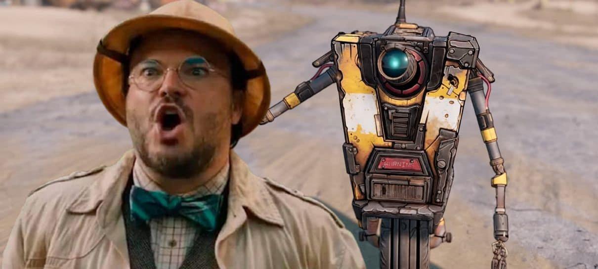 Jack Black será Claptrap no filme de Borderlands