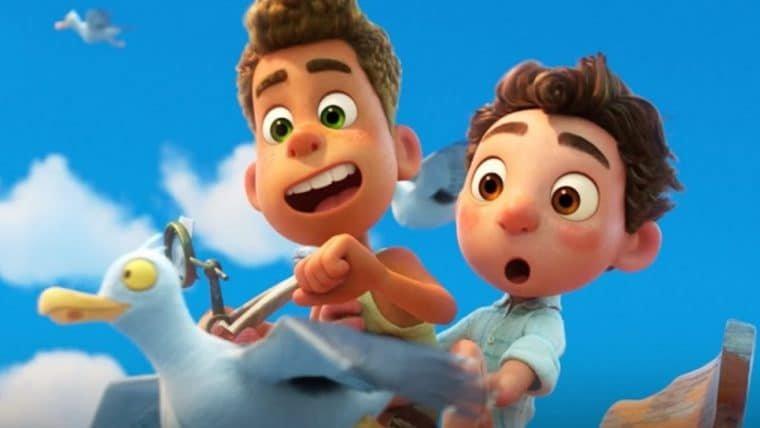 Luca, nova animação da Pixar, promete aventuras em trailer