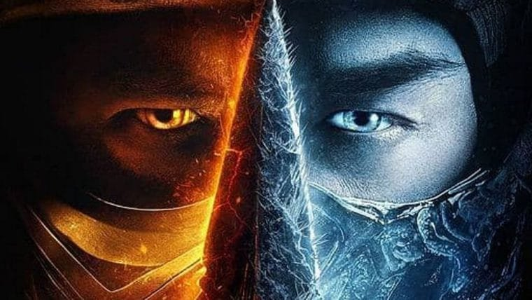 Mortal Kombat | Pôster do filme coloca rivais lado a lado