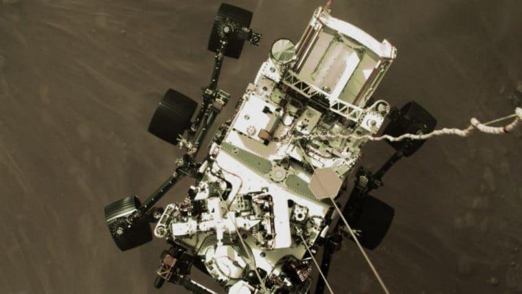 NASA divulga primeiros vídeos da Perseverance em Marte