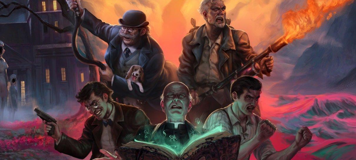 Último dia para apoiar a campanha do Nerdcast RPG: Coleção Cthulhu