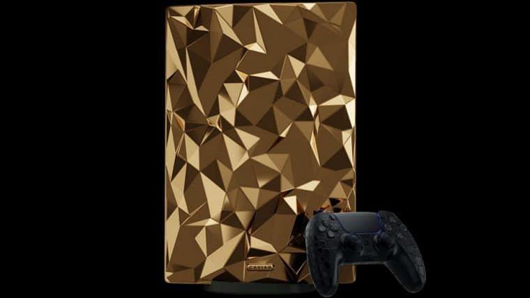 PlayStation 5 de ouro tem preço anunciado e custa MILHÕES
