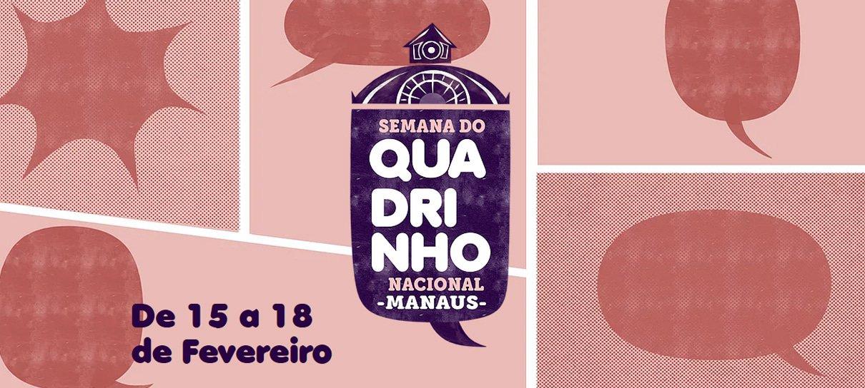 Confira a programação da 3ª edição da Semana do Quadrinho Nacional – Manaus